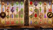 Obrázek ze hry automatu Temple of Luxor online