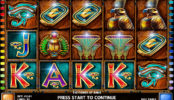 Obrázek ze hry kasino automatu The Power of Ankh