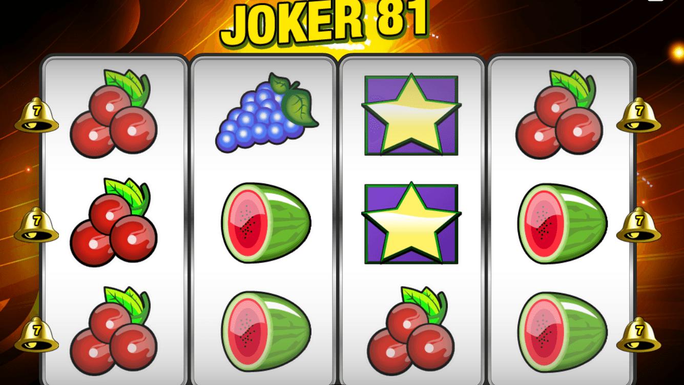 Automat Joker 81 online zdarma - Hraj 4000+ automatů zdarma!