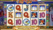 automat king arthur online zdarma obrázek ze hry