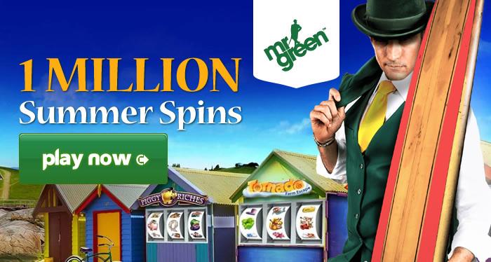 Mr Green Casino Free Spins