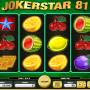 Jokerstar 81 online automat zdarma