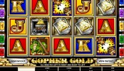 Casino automat Gopher Gold online