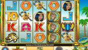 A While on the Nile herní automat pro zábavu