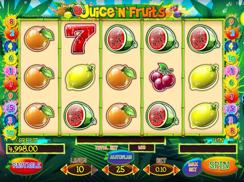 Juicenfruits ігровий автомат стрибучий помідор