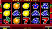 Casino automat Hot Seven zdarma bez registrace
