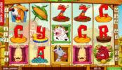 Obrázek ze hry automatu Crazy Cows