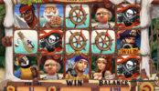 Obrázek ze hry automatu Exploding Pirates