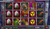 Obrázek ze hry automatu Zombie Slot Mania