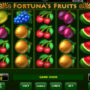 Casino automat online Fortuna's Fruits