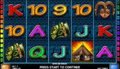 Obrázek z herního automatu African Magic