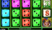Online herní automat s kostkami Burning Dice