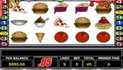 Online automatová casino hra bez stahování Food Fight