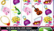Obrázek z online automatu Love Bugs