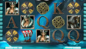 Obrázek z herního automatu The Vikings